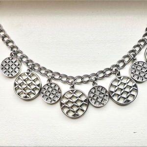 Jewelry - Charm bracelet silver tone